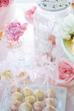 Wedding candy bar Royalty Free Stock Image