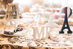 Wedding Candy Bar Live Stock Photography