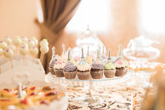 Wedding Candy Bar Live Stock Photos