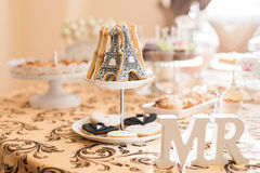Wedding Candy Bar Live Royalty Free Stock Image