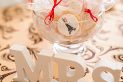 Wedding Candy Bar Live Royalty Free Stock Photography