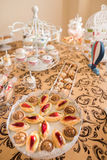 Wedding Candy Bar Live Royalty Free Stock Photos