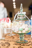 Wedding Candy Bar Live Royalty Free Stock Images