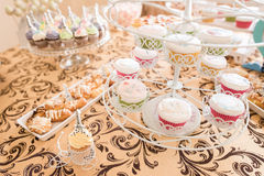 Wedding Candy Bar Live Stock Photo