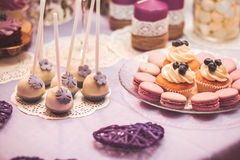 Wedding candy Royalty Free Stock Photography