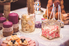 Wedding candy Stock Photography