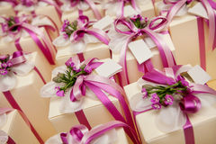 Wedding favors Stock Photo