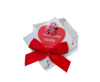 Wedding candy box Stock Photography