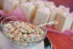 Sugared almonds Stock Image