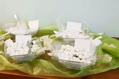 Sugared almonds Stock Photos
