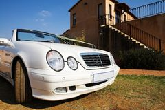 Wedding Car Royalty Free Stock Images