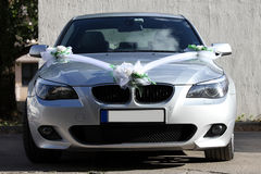 Wedding car. Nice car for the newlyweds Stock Photo