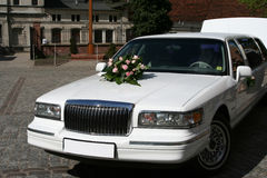 Wedding car Stock Photo