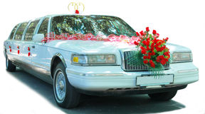 Free Wedding Car Royalty Free Stock Image - 2837116