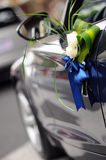 Wedding Car Flowers Stock Photography