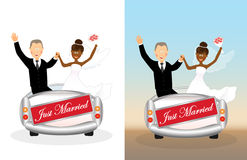 Wedding car 3 Stock Photo