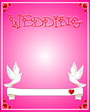 Wedding card Stock Photos