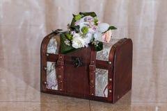 Wedding card box Stock Photography