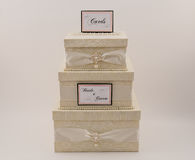 Wedding Card Box Stock Images
