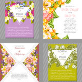 Wedding card Royalty Free Stock Photos
