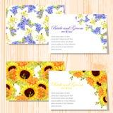 Wedding card Royalty Free Stock Photos