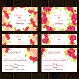 Wedding card Stock Image