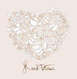 Wedding card design Royalty Free Stock Photo