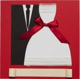 Wedding card, elegant style Royalty Free Stock Photo