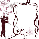 Wedding card invitation Royalty Free Stock Photos