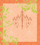 Wedding card or invitation Royalty Free Stock Image