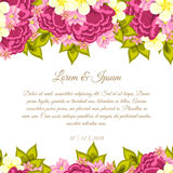 Wedding card Stock Image