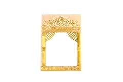Wedding card. Isolated on white background Royalty Free Stock Photo