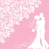 Wedding card Stock Photos