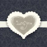 Wedding card template Stock Photo