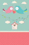Wedding Card Vector. 