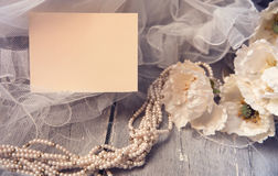 Wedding card Royalty Free Stock Image