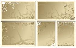Wedding cards Stock Image