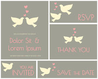 Free Wedding Cards Collection Royalty Free Stock Images - 32460299