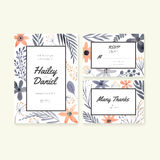 Wedding Cards Collection Royalty Free Stock Photography