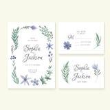 Wedding Cards Collection Stock Photos