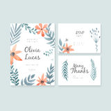 Wedding Cards Collection Royalty Free Stock Photo