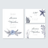 Wedding Cards Collection royalty free illustration