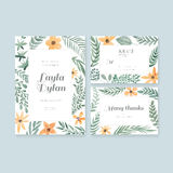 Wedding Cards Collection Royalty Free Stock Photos