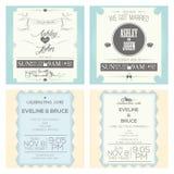 Wedding cards Stock Photography
