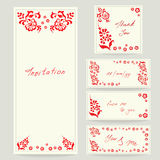 Wedding cards, invitations Royalty Free Stock Images