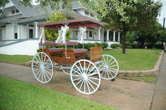 Wedding Carriage Stock Photo