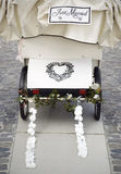 Wedding carriage Royalty Free Stock Images