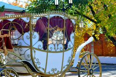 Wedding Carriage Royalty Free Stock Image