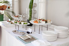 Wedding catering Stock Photos