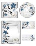 Wedding CD Kennsätze Lizenzfreie Stockfotografie